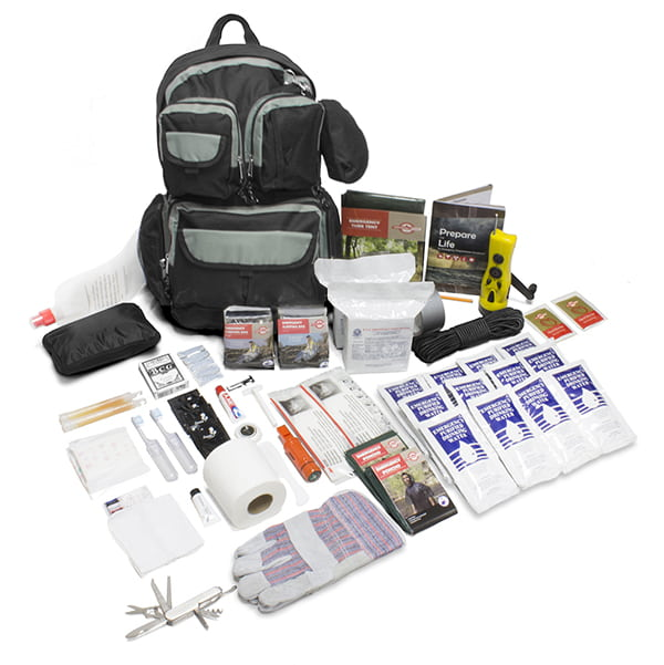 2-Person Urban Survival Bug-Out Bag