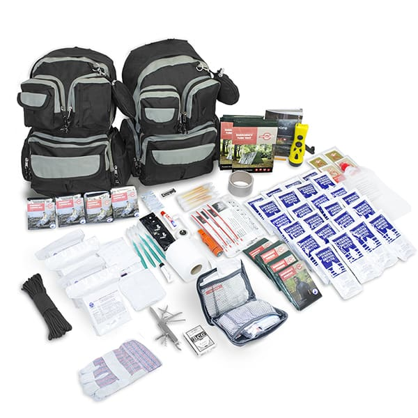 4-Person Urban Survival Bug-Out Bag