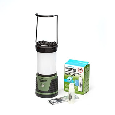 Trailblazer Camp Mosquito Lantern & Repellent Set
