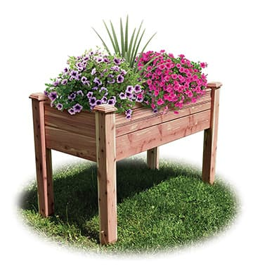 Cedar Elevated Garden Bed