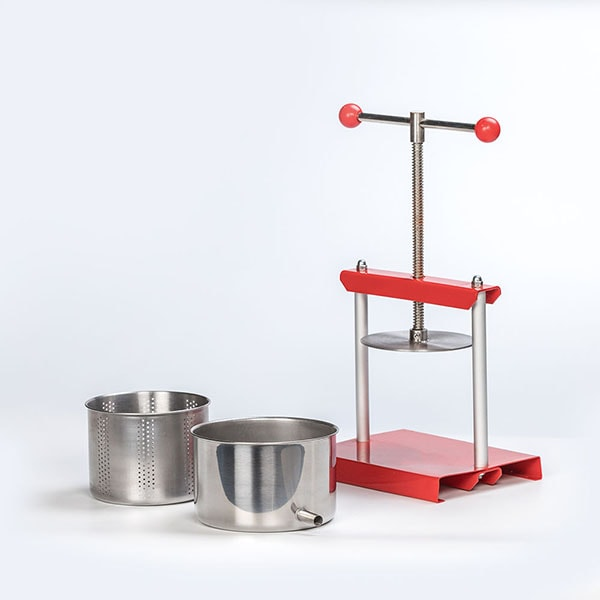 Stainless Steel Cheese & Fruit Press