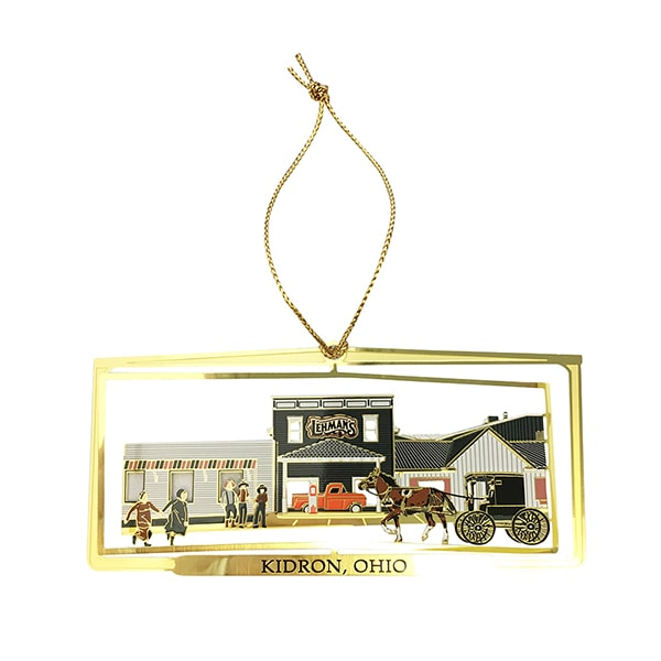 Lehman's Exclusive Brass Christmas Ornament