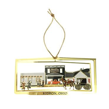 Lehman's Exclusive Brass Christmas Ornament