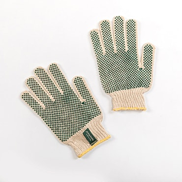 Hemp Garden Gloves - Gripper Dots