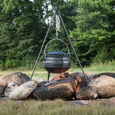 Cast Iron Campfire Kettles