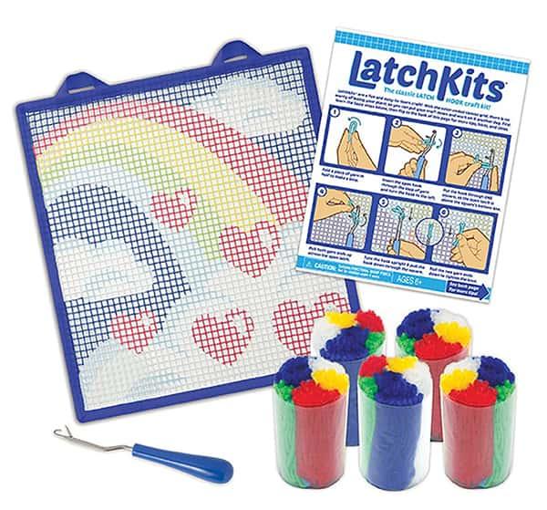 LatchKits Rainbow Mini Rug