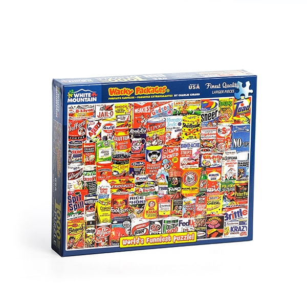 Wacky Packages Jigsaw Puzzle
