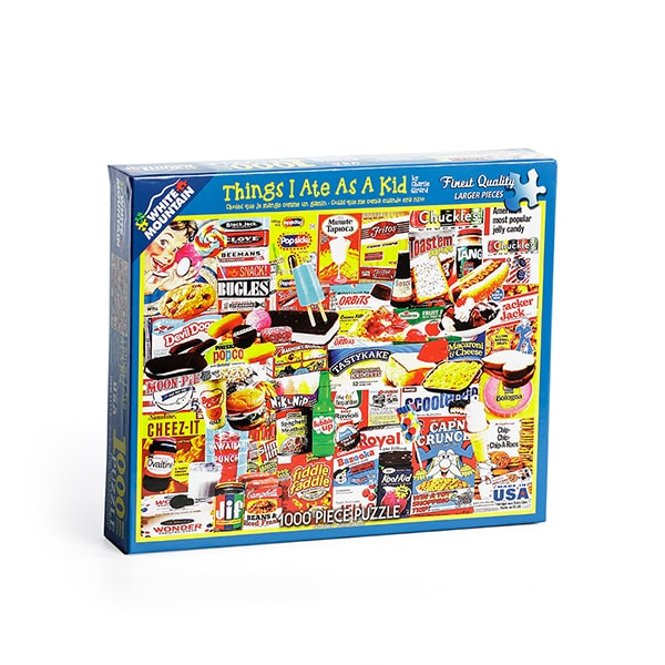 Things I Ate As A Kid Jigsaw Puzzle