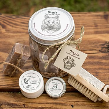 Gingy's Hand and Foot Care Kit