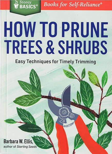 How to Prune Trees and Shrubs Book
