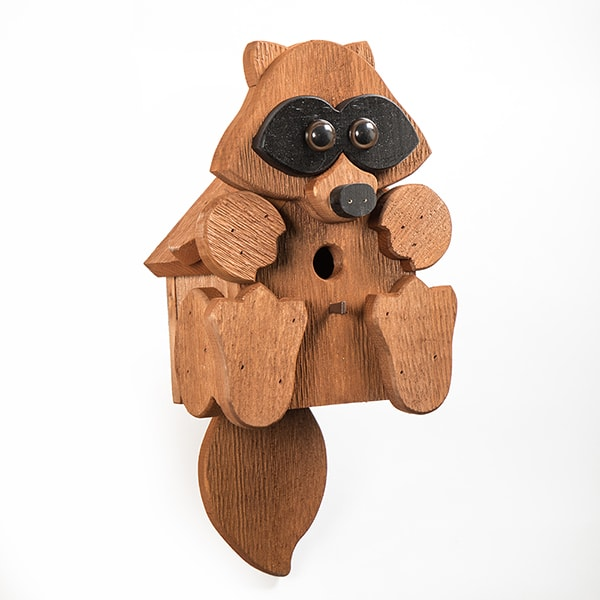 Raccoon Birdhouse