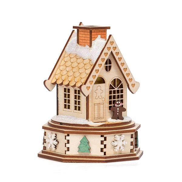 Christmas Ginger Cottage Incense Smoker