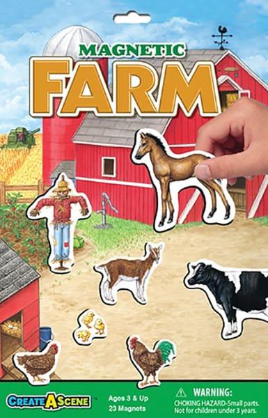 Magnetic Farm Play Board