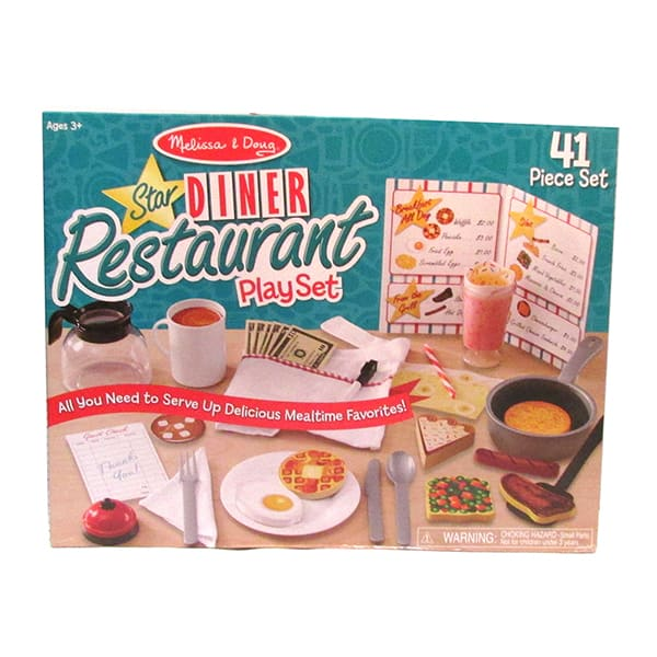 Star Diner Restaurant Accessory Playset