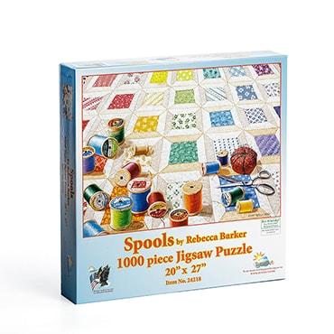 Spools Jigsaw Puzzle