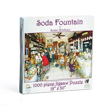Soda Fountain Jigsaw Puzzle