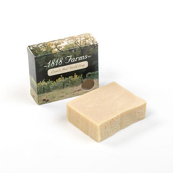 Handcrafted Castile Goat Milk Bar Soap