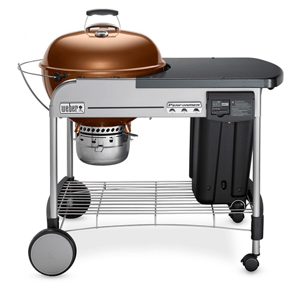 """Weber Performer Deluxe Copper 22"""" Charcoal Grill"""