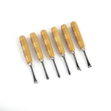 6-Piece Wood Carving Tool Set