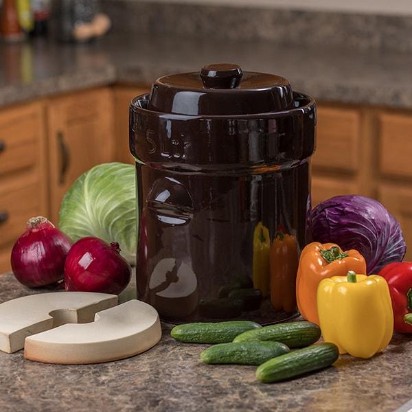 Hausgemacht Fermenting Crock - 1 Gallon