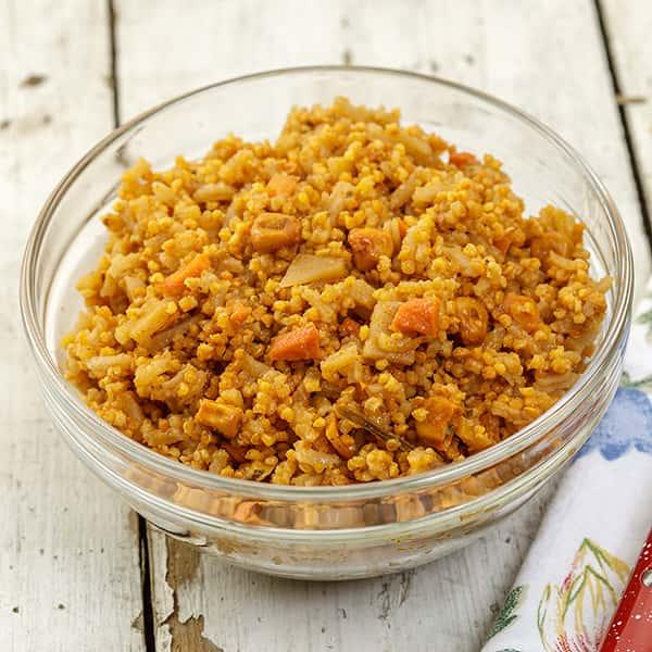 Spicy Quinoa Pilaf