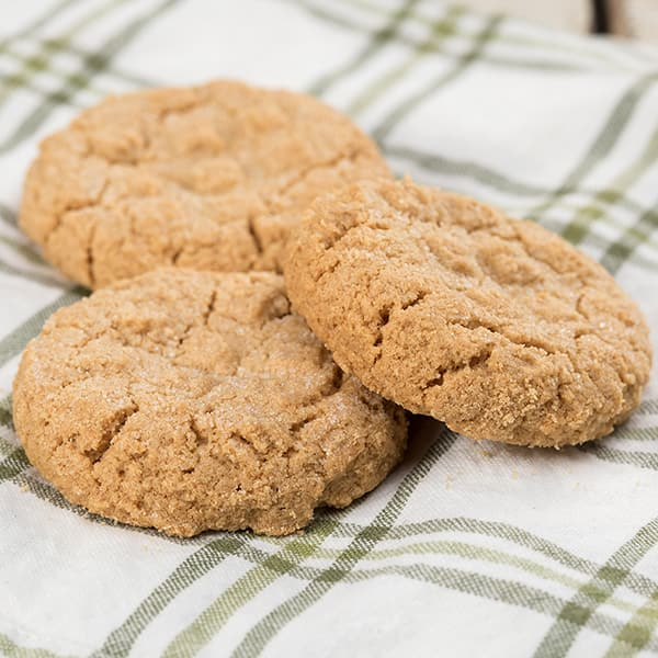 Gluten-Free Peanut Butter Cookies from the Bakery