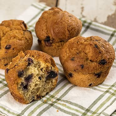 Gluten-Free Blueberry Muffins from the Bakery