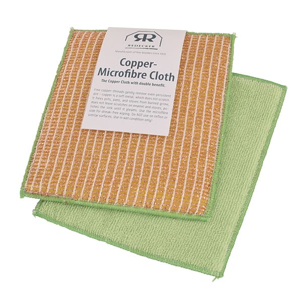 Copper-Microfiber Cleaning Cloth