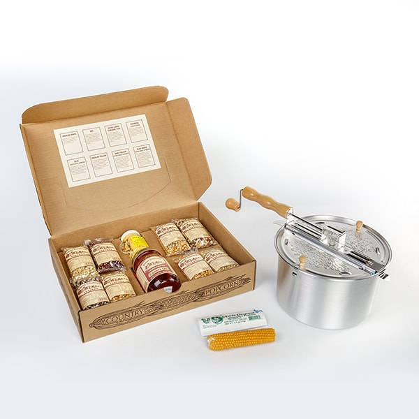 Amish Country Popcorn Complete Gift Set