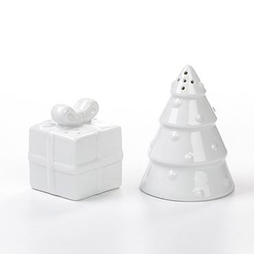 Christmas Tree & Present Salt and Pepper Shakers