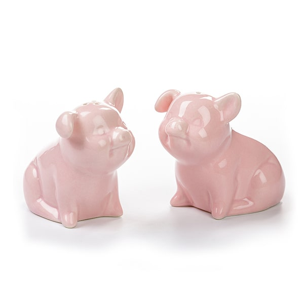Pig Salt and Pepper Shakers