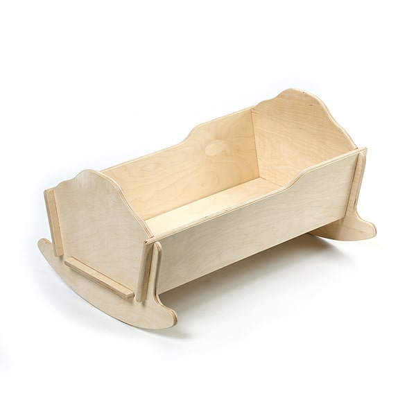 Eli & Mattie Collapsible Doll Cradle