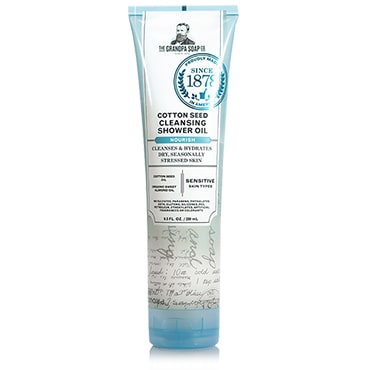 Grandpa's Cotton Seed Cleansing Shower Oil