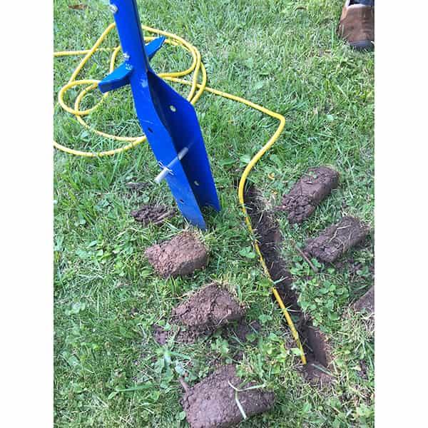 The Blue Viper Conduit/Trenching Shovel