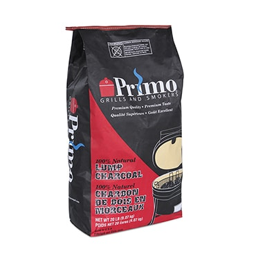 Primo Natural Lump Charcoal - 20 lb bag