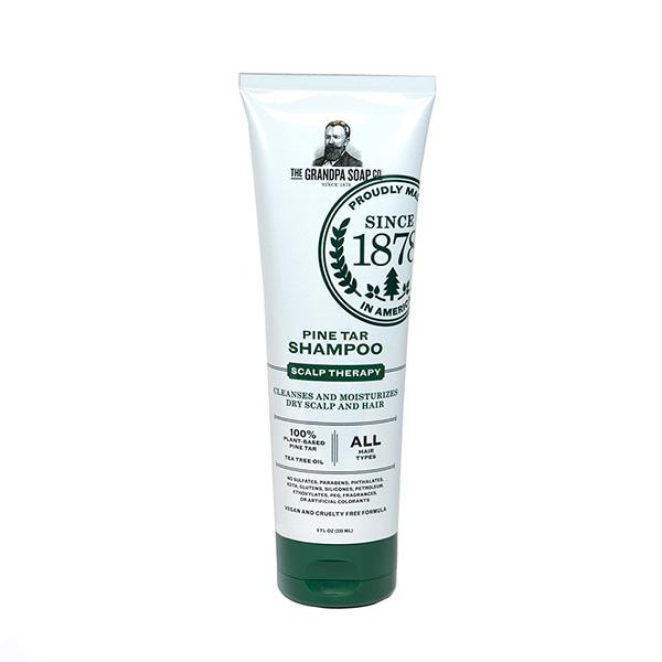 Grandpa's Pine Tar Liquid Shampoo - Case of 12