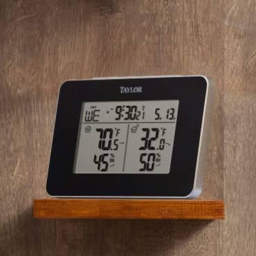 Digital Weather Station with Alarm Clock
