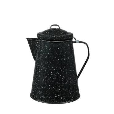 Enamelware Coffee Boiler - 12 Cup
