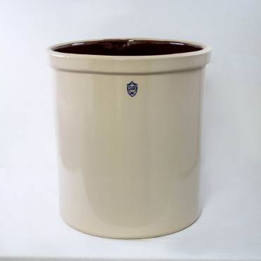 10 Gallon Numbered Stoneware Crock