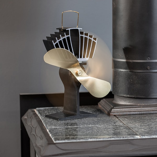 Deluxe Heat-Powered Stove Fans