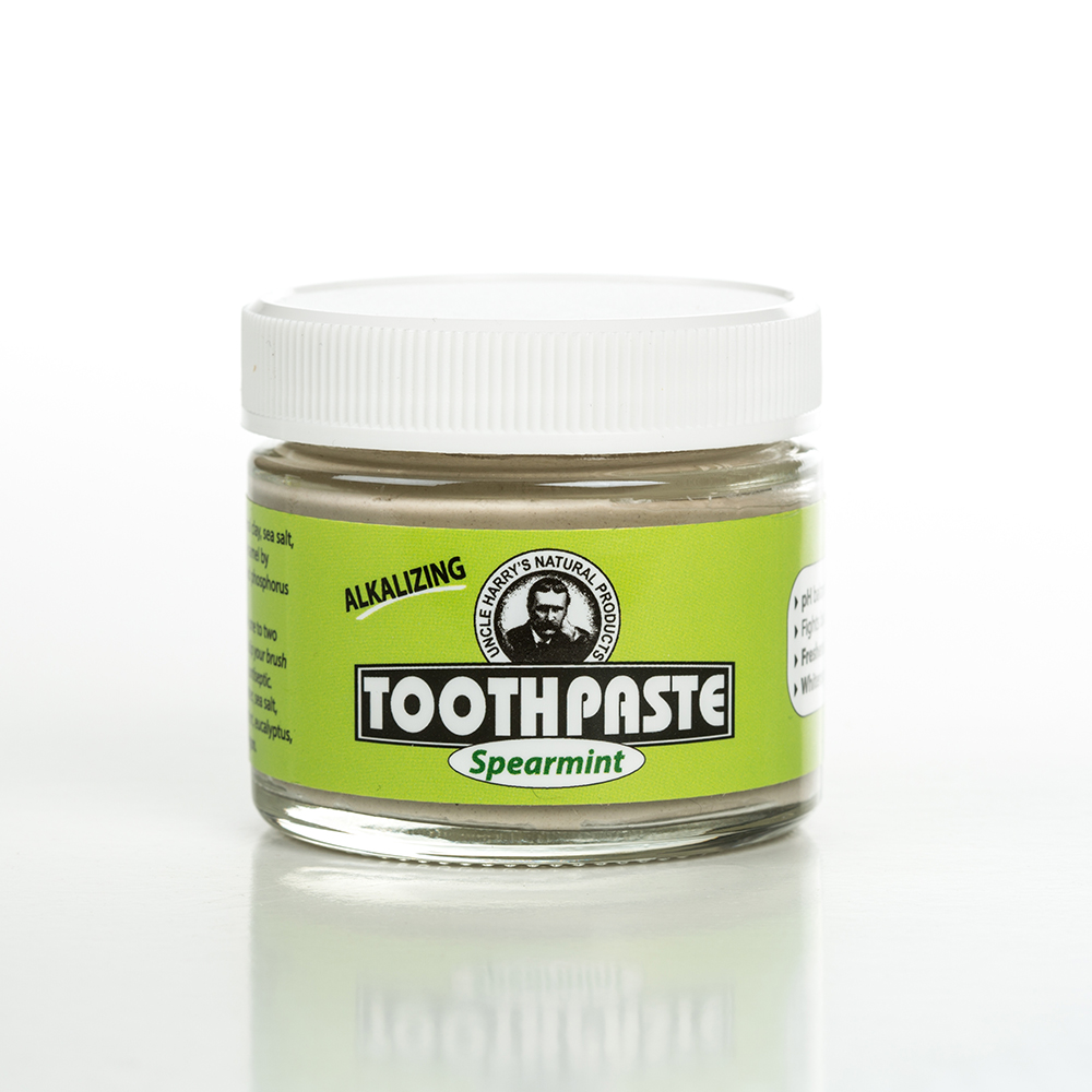 Uncle Harry's All-Natural Alkalizing Toothpaste