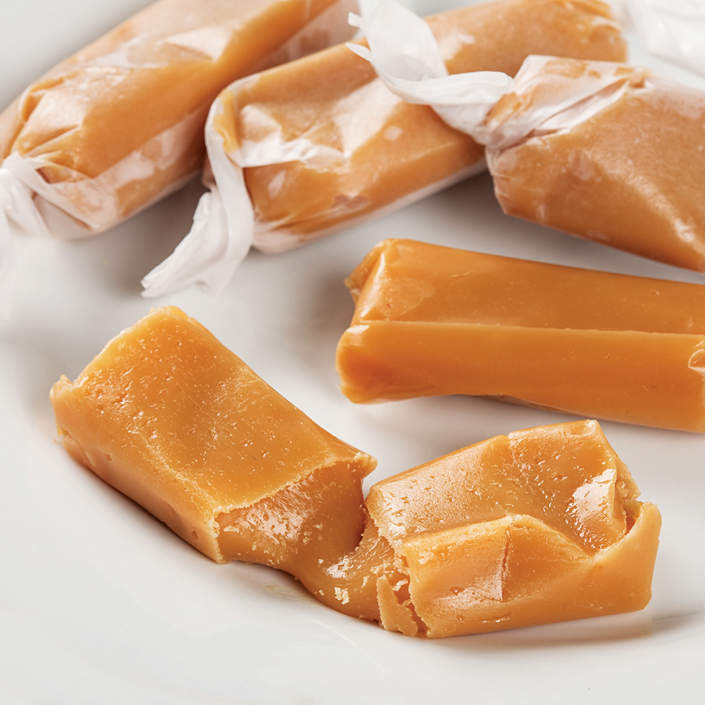 Hand-Wrapped, Old-Fashioned Caramels