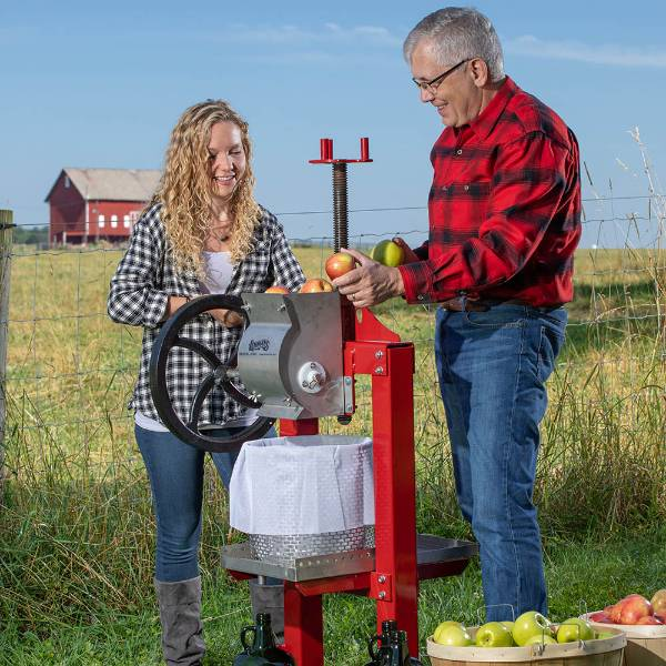 Lehman's Stainless Steel Cider Press