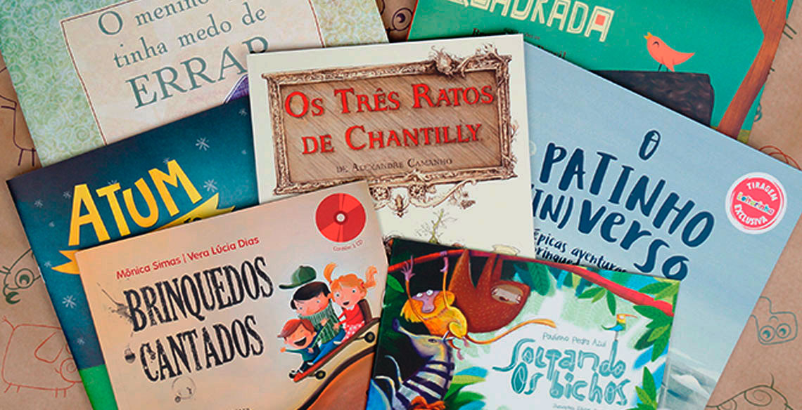 9dc44c82cd Conheça 12 livros infantis que a Leiturinha já enviou