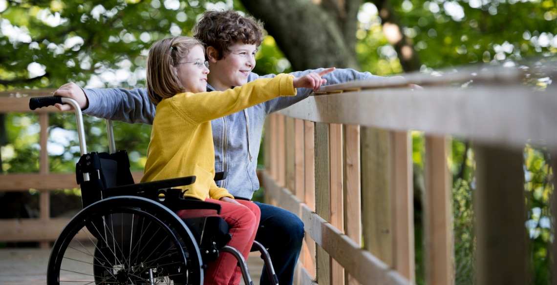 crianças com deficiência