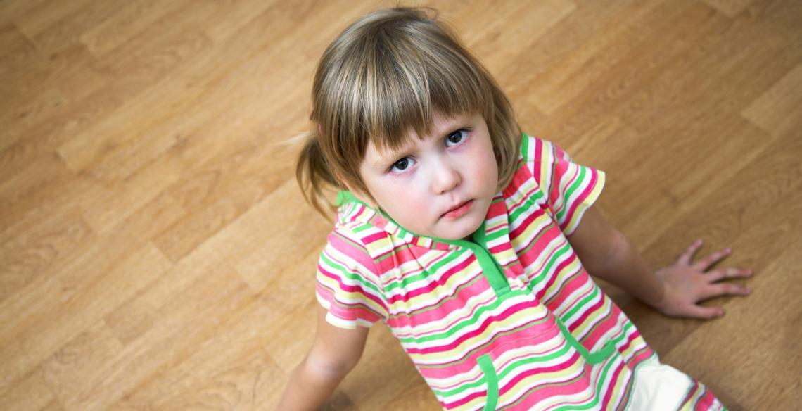 crianças desobedientes