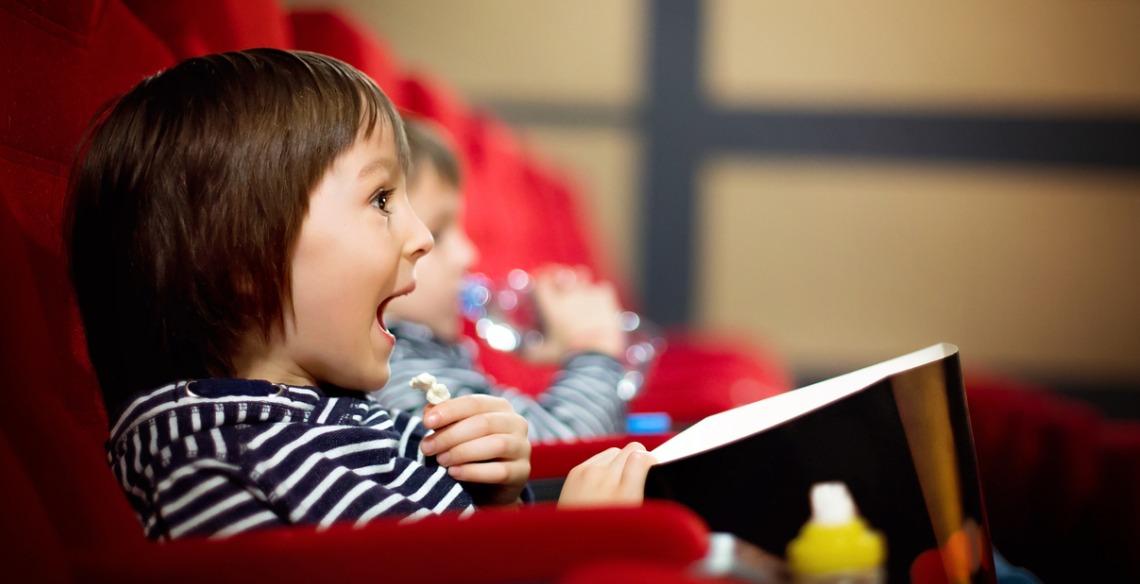 cinema para crianças