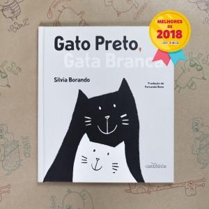 Gato-Preto-Gata-Branca