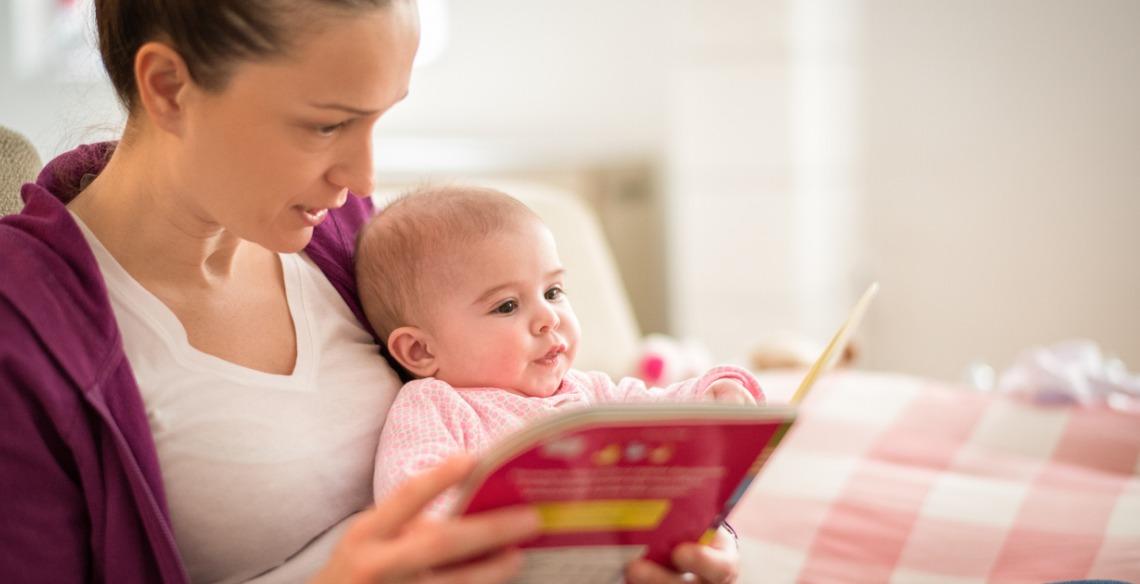 Como incentivar a leitura em bebês
