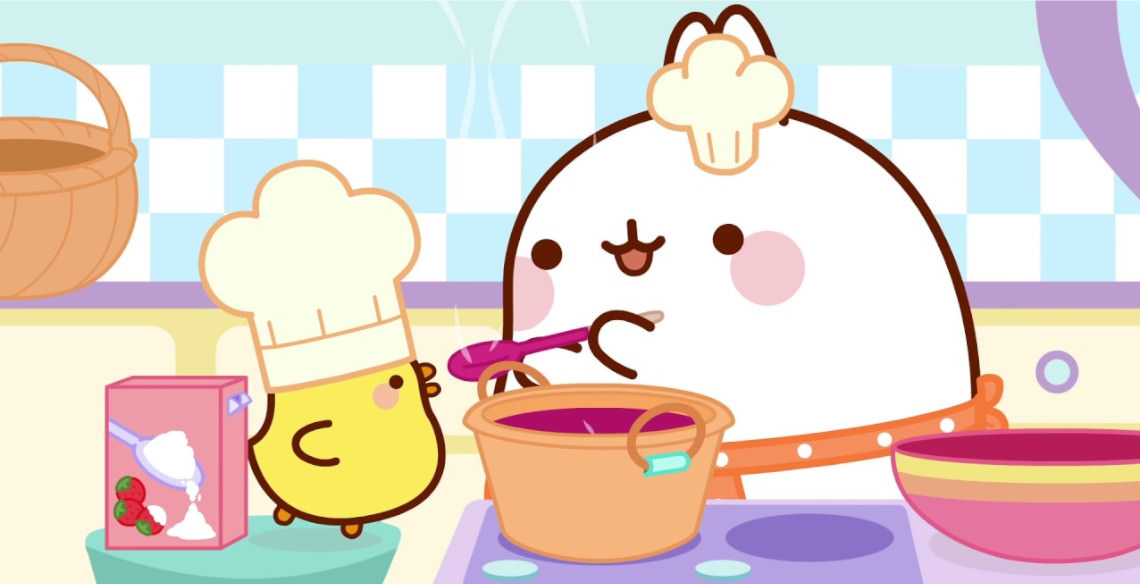 Molang and its positive role models for kids - PlayKids Blog